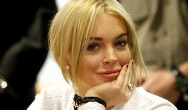Lindsay Lohan gaining weight at rehab facility